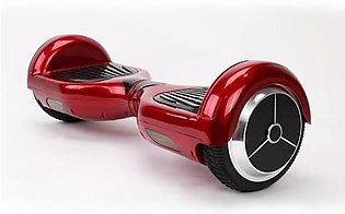 Red Smart Electric Scooter 2 Wheels Self Balancing Hover Board