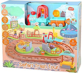 PlayGo Safari Train Tour playset