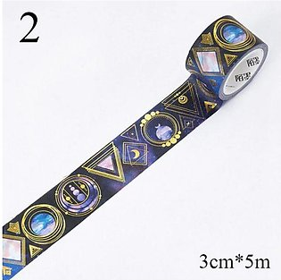 Starry sky Masking Tapes 2