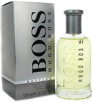 boss silver bottle
