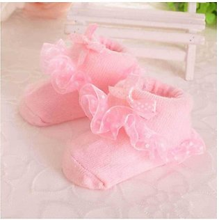 Baby Pink Socks Shoes