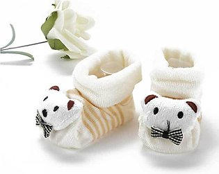 Baby Soft Cotton Bear Style Shoes