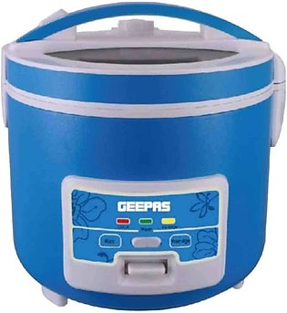 Geepas GRC4333 Electrical Rice Cooker Blue