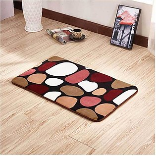 Comfortable Stone Carpet Bathroom Mat