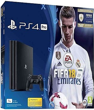 Sony PlayStation 4 1Tb Pro With FIFA 18 Ronaldo Edition Console