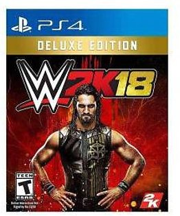 Sony WWE 2K18 Deluxe Edition PlayStation 4