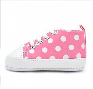 Kids Pink Sneakers Shoes