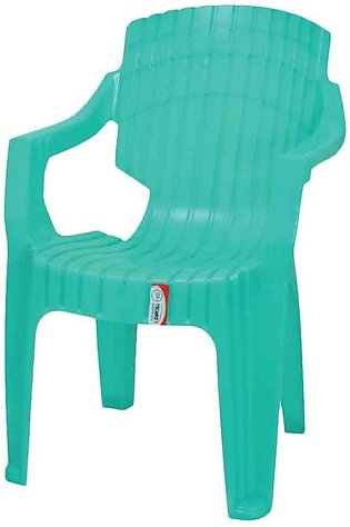 Turquoise Plastic Chair Techno T-1215