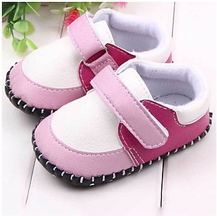Pink Strap Shoes For Baby