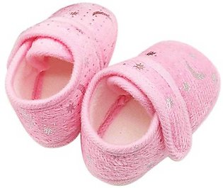 New Born Baby Pink Shoes