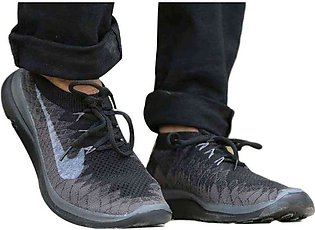 Men's Nike Black And Blue Shoes