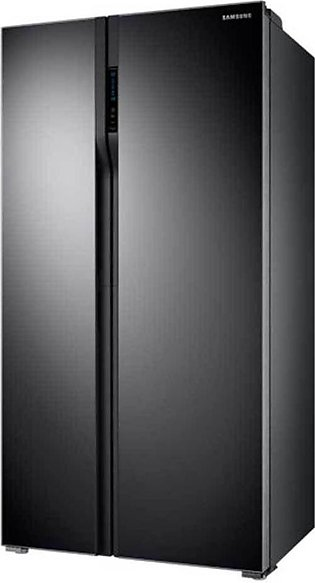 Samsung Refrigerator Side by Side Open