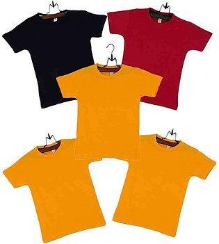 Pack of  5 Multicolor T-shirts for Boys