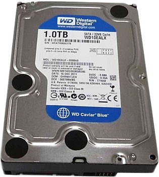 Western Digital 1TB 3.5 SATA HARD DRIVE BLUE
