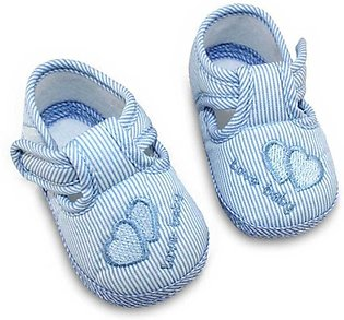 Blue Lovely Baby New Born Baby Shoes