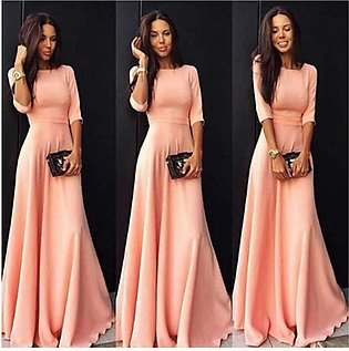 Women's Long Ball Gown Party Dress
