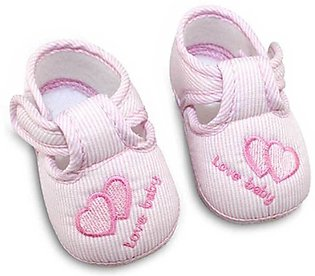 Lovely Baby Pink New Born baby Shoes