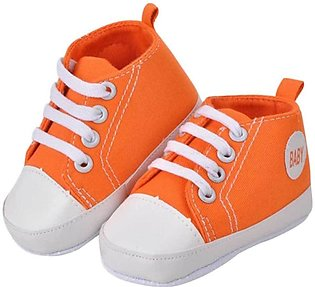 Orange baby Comfortable Shoes