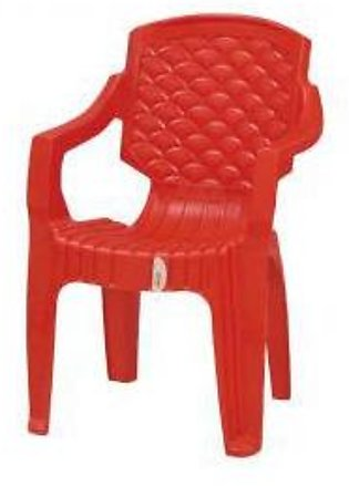 C-1717 Red Plastic Chair Techno