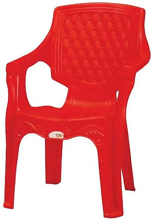 Techno Plastic Chair Red C-616