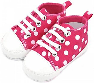 Kids Red Sneakers Shoes