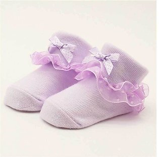 Light Pink Baby Socks Styke Shoes