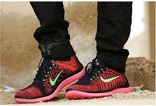 Men's Nike Red And Green Shoes