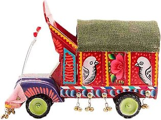 Hand Painted Classic Truck Decoration Piece