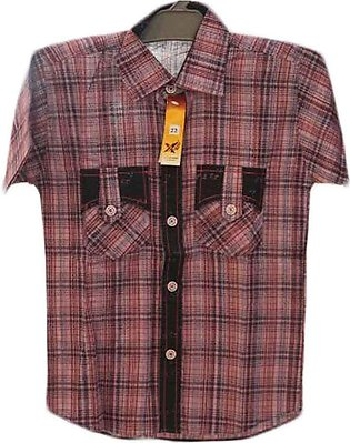 Maroon Casual Shirts For Boys