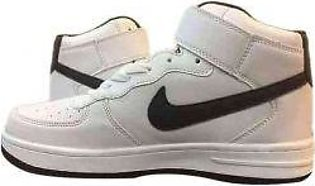 Men's Nike Black And White Shoes