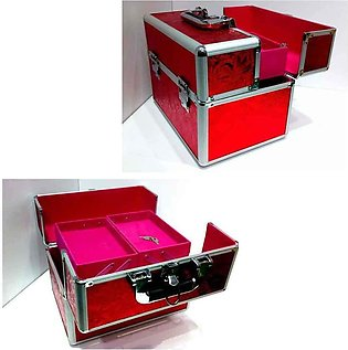 Big Makeup Box Red