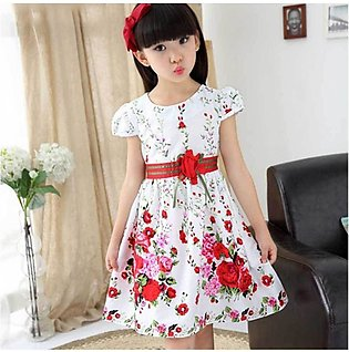 Baby Floral Print Frock