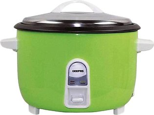 Geepas GRC4321 Electric Rice Cooker and Warmer 4.2litre , 1600W Multicolor