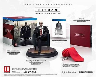Square Enix Hitman Collector's Edition PlayStation 4