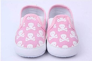 Baby Pink Soft Cotton Comfortable Baby Shoes