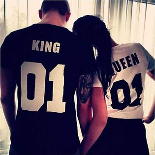 Black and White Couple T-Shirts