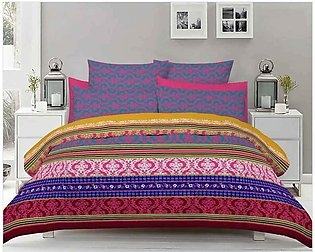 Double Bed Sheets With 2 Pilow Cover