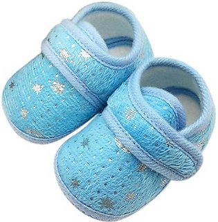 New Born Baby Blue Shoes