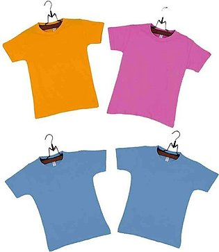 Pack of 4 Multicolor Boys T-shirts