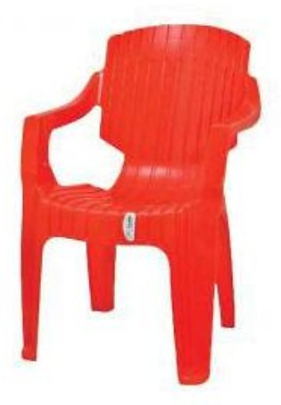 Red Plastic Chair Techno T-1215