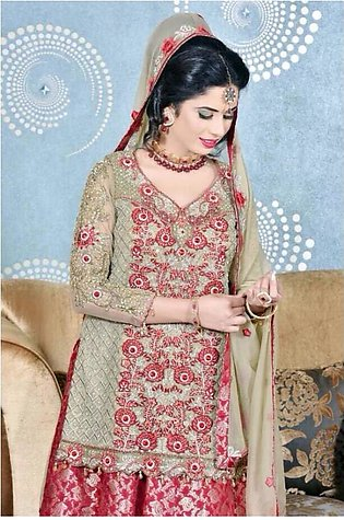 Pure Chiffon Embroidered Lehanga Choli