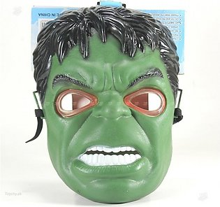 Super Hero HULK Toy Mask Led light Full Face Mask For Kids
