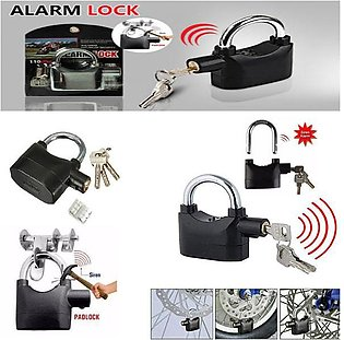 Padlock Alarm Security System For Door Motor Bike Bicycle