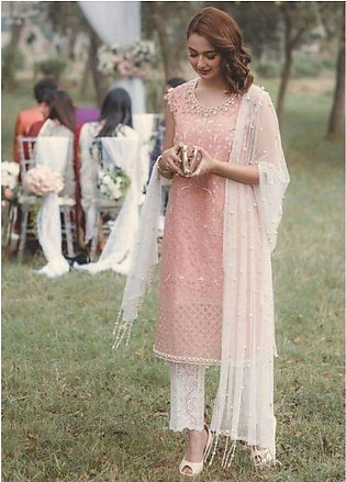 Rang Rasia net bridal embroidery 3 piece suit