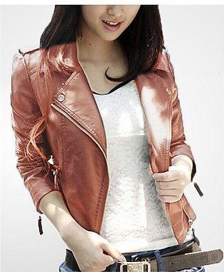 Moncler Skin Leather Jacket For Women