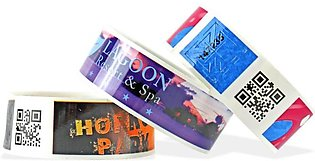 Customized Wristbands for College and University Events Pack of 500 pcs