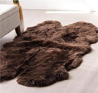 LARGE REAL PELT NATURAL SHEEP SKIN AREA RUGS