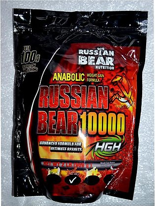 Weight Gainer Russian Bear Nutrition 10000 ( 2 lbs ) 1 KG