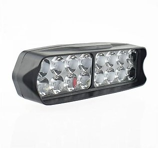 Motorcycle headlight 16 led spotlights Motorbike work light spot Lamp headlamp …