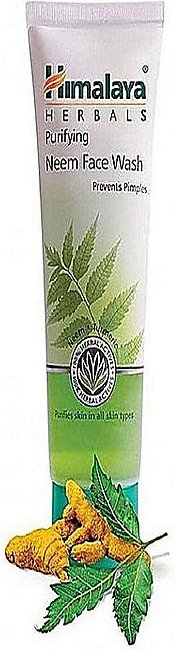 Himalaya Purifying Neem Face Wash Prevents Pimples - 100Ml - Indian